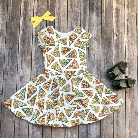 Pizza Party Twirl Dress - Twirl Dresses