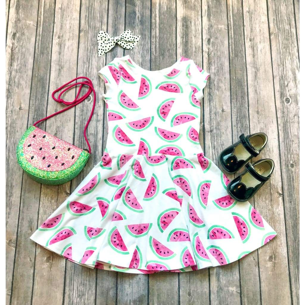 Watermelon Dress - Twirl Dresses - Elizabeth's Closet