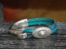 Load image into Gallery viewer, Turquoise Concho Bracelet