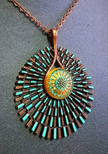Load image into Gallery viewer, Copper Radiance Pendant