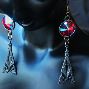 Blue Blood Earrings