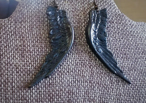 Raven Wing Earrings