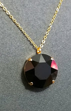 Load image into Gallery viewer, Black & Gold Corona Pendant