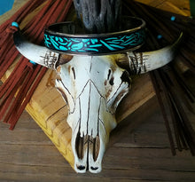 Load image into Gallery viewer, Santa Fe Leather Cuff