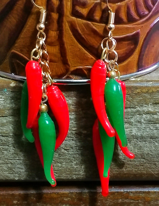Chile Ristra Earrings