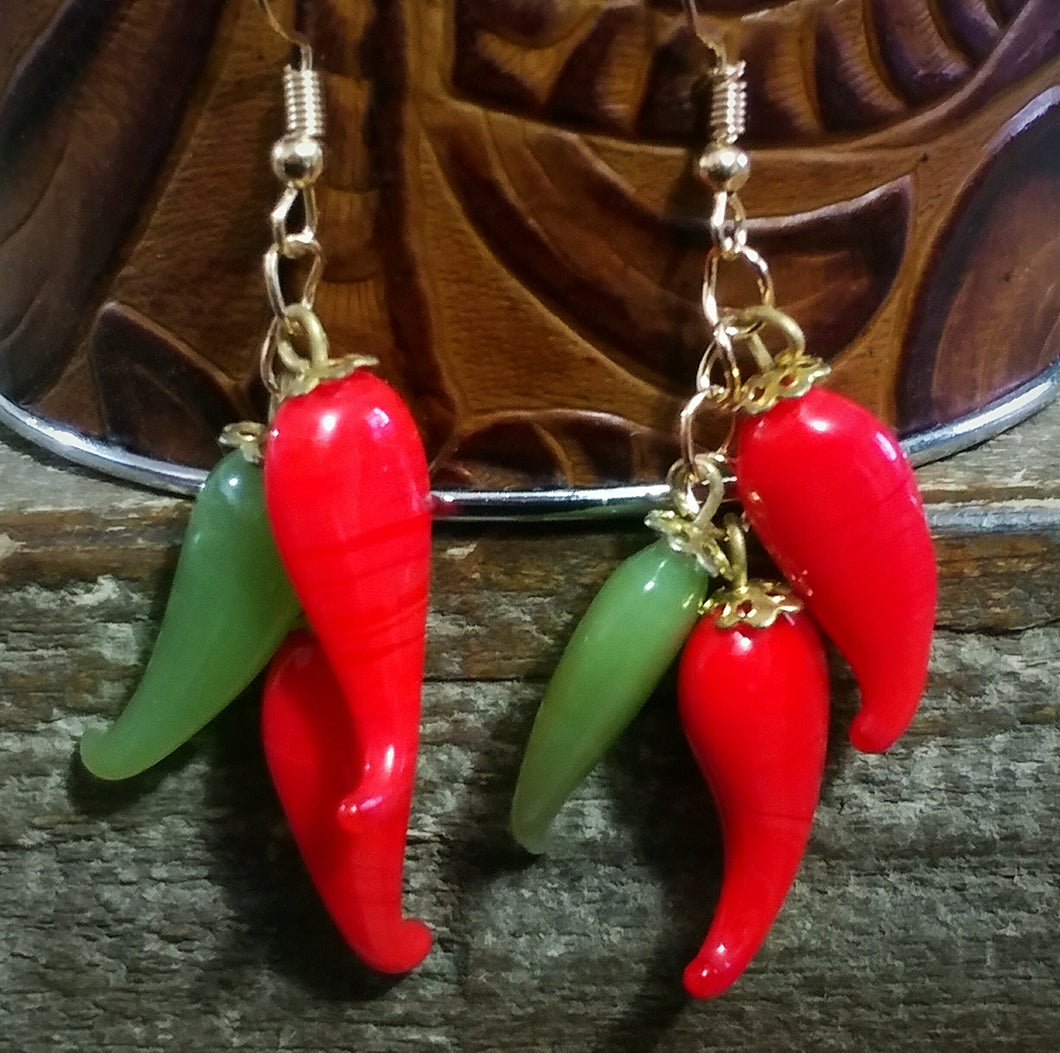 Chunky Chile Ristra Earrings