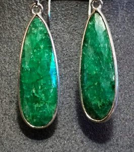 Faceted Emerald Drops