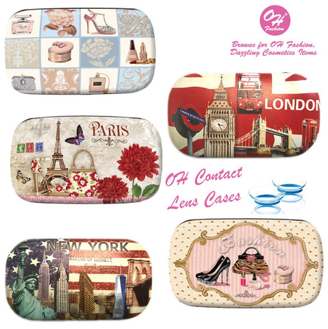OH Fashion Contact Lens Cases Collection