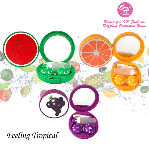 Contact Lens Case Fruits Collection