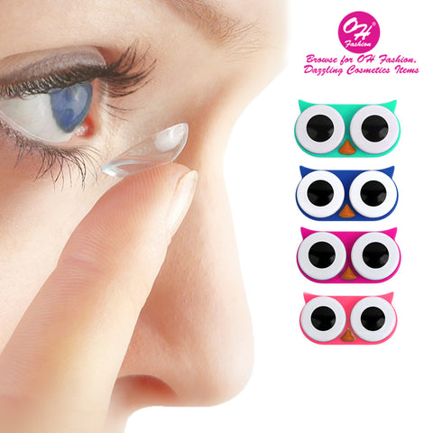 OH Fashion Contact Lens Case Owl Collection