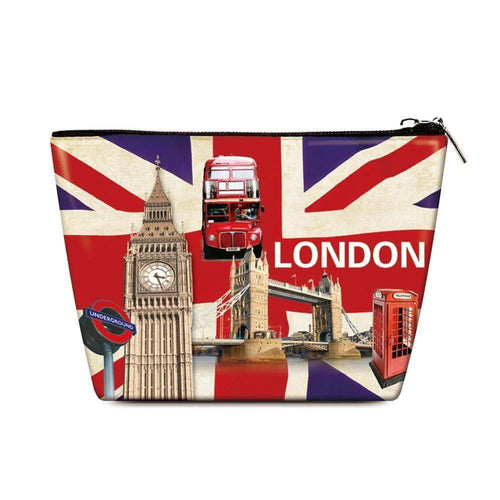 OH Fashion Cosmetic Bag London - Superpharma Corporation - ohfashion