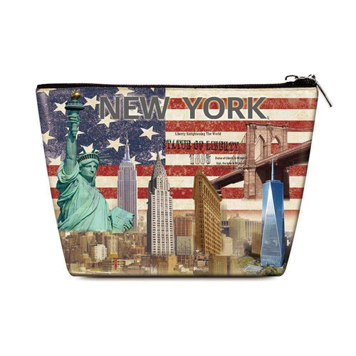 OH Fashion Cosmetic Bag New York - Superpharma Corporation - ohfashion