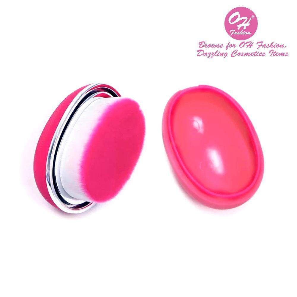 OH Fashion Round Foundation Makeup Brush Hot Pink - Superpharma Corporation - ohfashion