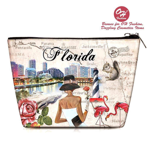 OH Fashion Makeup Bag Splendid Florida
