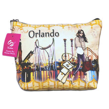 Load image into Gallery viewer, OH Fashion Makeup Bag Amazing Orlando
