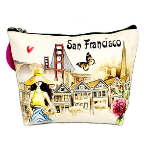 OH Fashion Makeup Bag Beautiful San Francisco