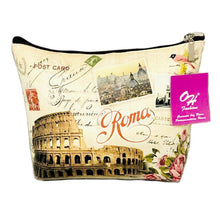 Load image into Gallery viewer, OH Fashion Makeup Bag Rome