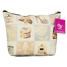 Load image into Gallery viewer, OH Fashion Makeup Bag Royal Dress