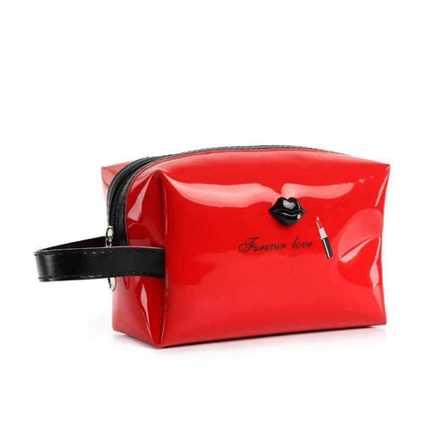 OH Fashion Cosmetic Bag Lipstick Love Ravishing in Red (Medium) - Superpharma Corporation - ohfashion