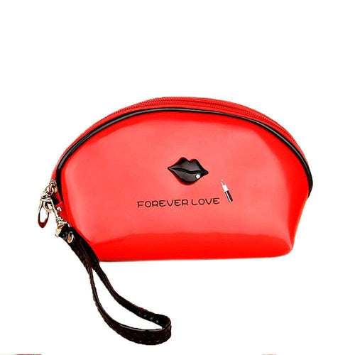 OH Fashion Cosmetic Bag Lipstick Love Ravishing in Red (Small) - Superpharma Corporation - ohfashion