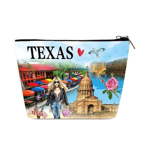 OH Fashion Cosmetic Bag Ranger of Texas - Superpharma Corporation - ohfashion