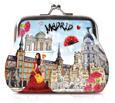 OH Fashion Coin Purse Discovering Madrid - Superpharma Corporation - ohfashion