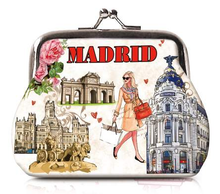 Load image into Gallery viewer, OH Fashion Coin Purse Elegant Madrid - Superpharma Corporation - ohfashion