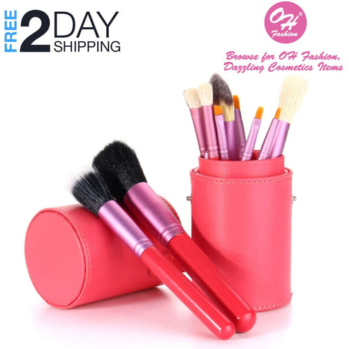 OH Fashion Makeup Brushes Fantasy Pink, 13 PCs