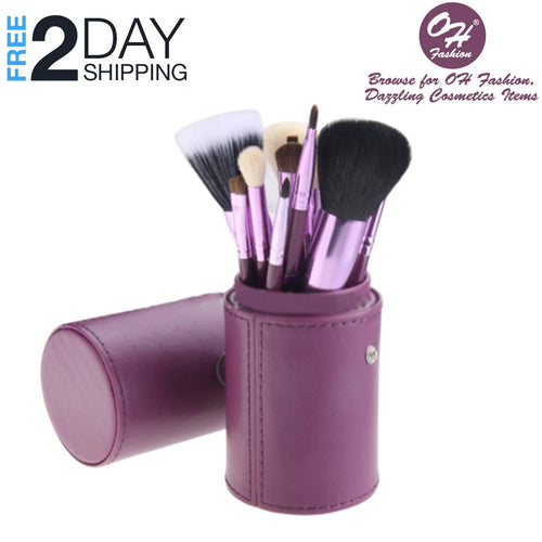 OH Fashion Makeup Brushes Galaxy Purple, 13 PCs