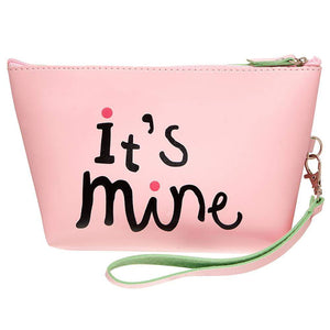 OH Fashion Cosmetic Bag Pink Sassy Lips - Superpharma Corporation - ohfashion
