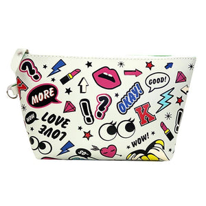 OH Fashion Cosmetic Bag Rocking In White - Superpharma Corporation - ohfashion