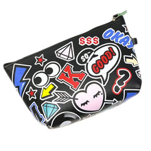 Load image into Gallery viewer, OH Fashion Cosmetic Bag Rocking in Black - Superpharma Corporation - ohfashion
