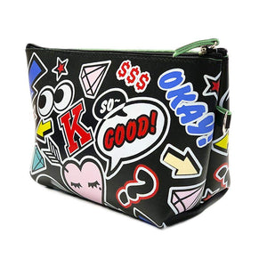 OH Fashion Cosmetic Bag Rocking in Black - Superpharma Corporation - ohfashion