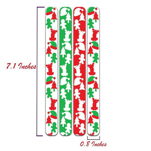 OH Fashion Nail Files Pack Christmas Lover 6 Packs 🎄 - Superpharma Corporation - ohfashion