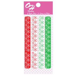 OH Fashion Large Nail Files Set Snow Christmas 🎄 - Superpharma Corporation - ohfashion
