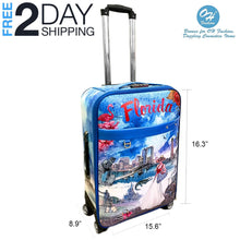 Load image into Gallery viewer, OH Fashion Luggage Florida | Travel Suitcase Spinner
