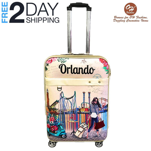 OH Fashion Luggage Amazing Orlando  | Travel Suitcase Spinner