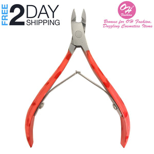 OH Fashion Professional Cuticle Nipper, Hearts Design