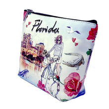 Load image into Gallery viewer, OH Fashion Makeup Bag Explore Florida