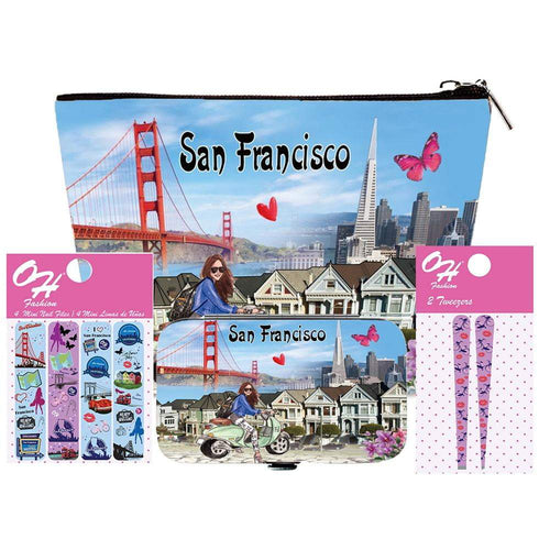 OH Fashion Beauty Set Discover San Francisco - Superpharma Corporation - ohfashion