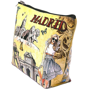 OH Fashion Cosmetic Bag Chic Madrid - Superpharma Corporation - ohfashion