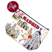 Load image into Gallery viewer, OH Fashion Makeup Bag Elegant Madrid