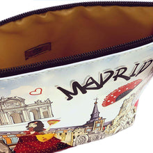 Load image into Gallery viewer, OH Fashion Makeup Bag Discovering Madrid