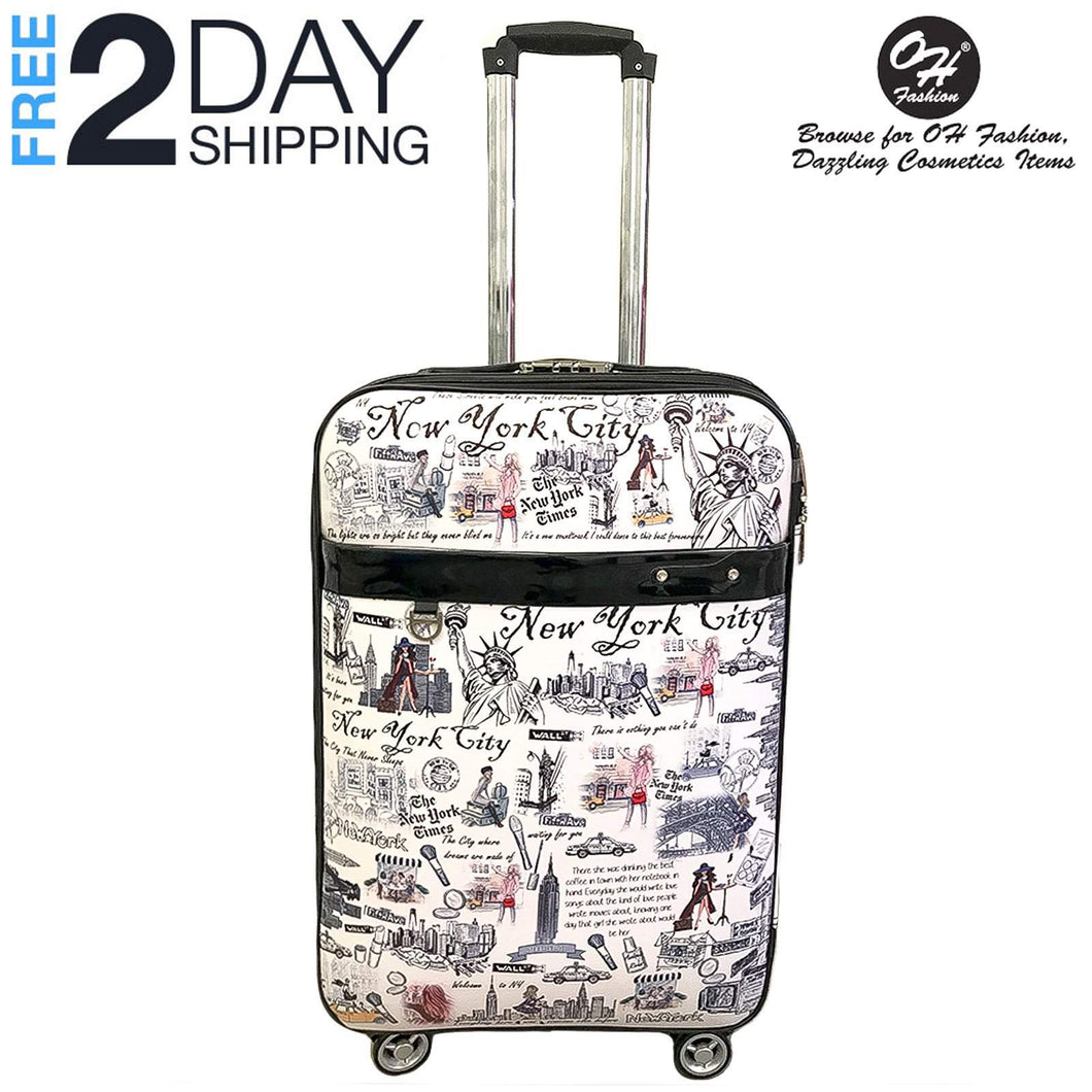 OH Fashion Luggage New York | Travel Suitcase Spinner