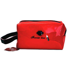 Load image into Gallery viewer, OH Fashion Cosmetic Bag Lipstick Love Ravishing in Red (Medium) - Superpharma Corporation - ohfashion
