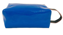 Load image into Gallery viewer, OH Fashion Makeup Bag Lipstick Love Extravagant in Blue (Medium)
