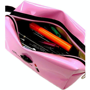 OH Fashion Cosmetic Bag Lipstick Love Cutie in Pink (Medium) - Superpharma Corporation - ohfashion