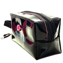 Load image into Gallery viewer, OH Fashion Cosmetic Bag Lipstick Love Captivating in Black (Medium) - Superpharma Corporation - ohfashion