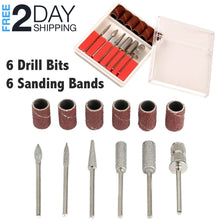 Load image into Gallery viewer, OH Fashion Professional Electric Nail Drill Set Black, 14 PCs