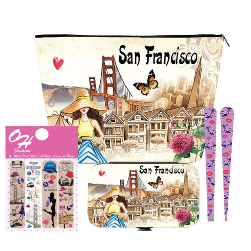 OH Fashion Beauty Set Beautiful San Francisco - Superpharma Corporation - ohfashion